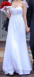 Греческое свадебное платье!