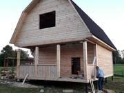 Дома из бруса Алексей 6×6 с установкой в Оршанском р-не