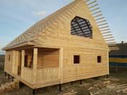 Строительство срубов домов,  бань в Орше