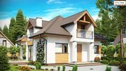 Строительство каркасных домов под ключ проект Uno 132 м2