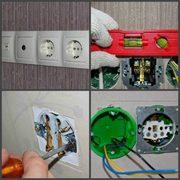 Монтаж автоматов,  розеток,  выключателей от электрика.