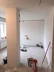 Облицовка стен,  монтаж потолка,  перегородок из гипсокартона.