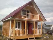 Строительство деревянных домов. дачи,  бани,  хоз постройки