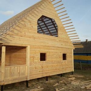 Дом-Баня из бруса готовые срубы с установкой-10 дней недорого Орша