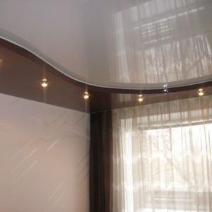 2-уровневые и криволинейные натяжные потолки в Орше