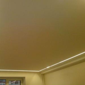 Парящие натяжные потолки монтаж в Орше и районе