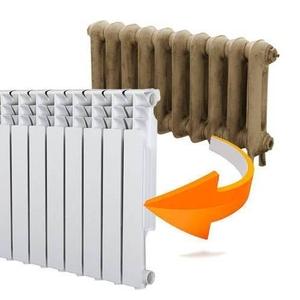Замена батарей отопления. Орша