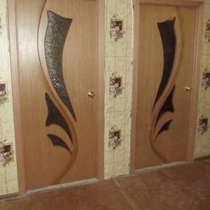 Установка межкомнатных дверей и окон