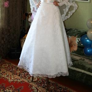 Продам шикарное свадебное платье размер 46-48