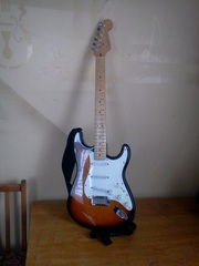 Fender Stratocaster (made in  U.S.A)
